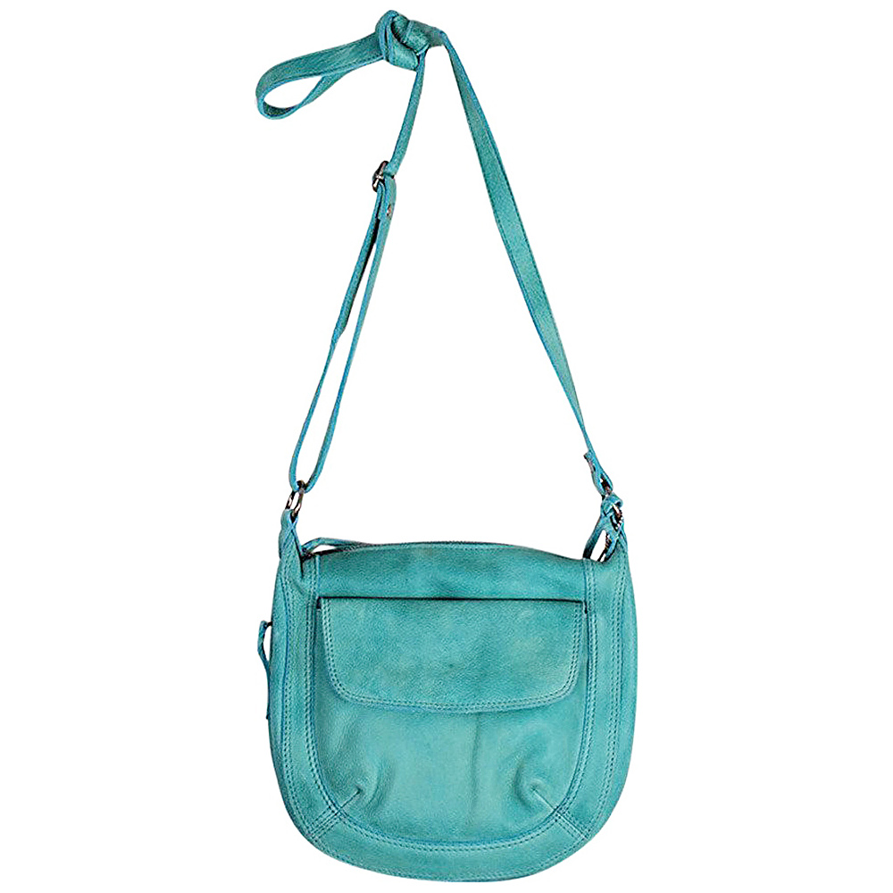 Latico Leathers Jay Crossbody Mint - Latico Leathers Leather Handbags - Handbags, Leather Handbags