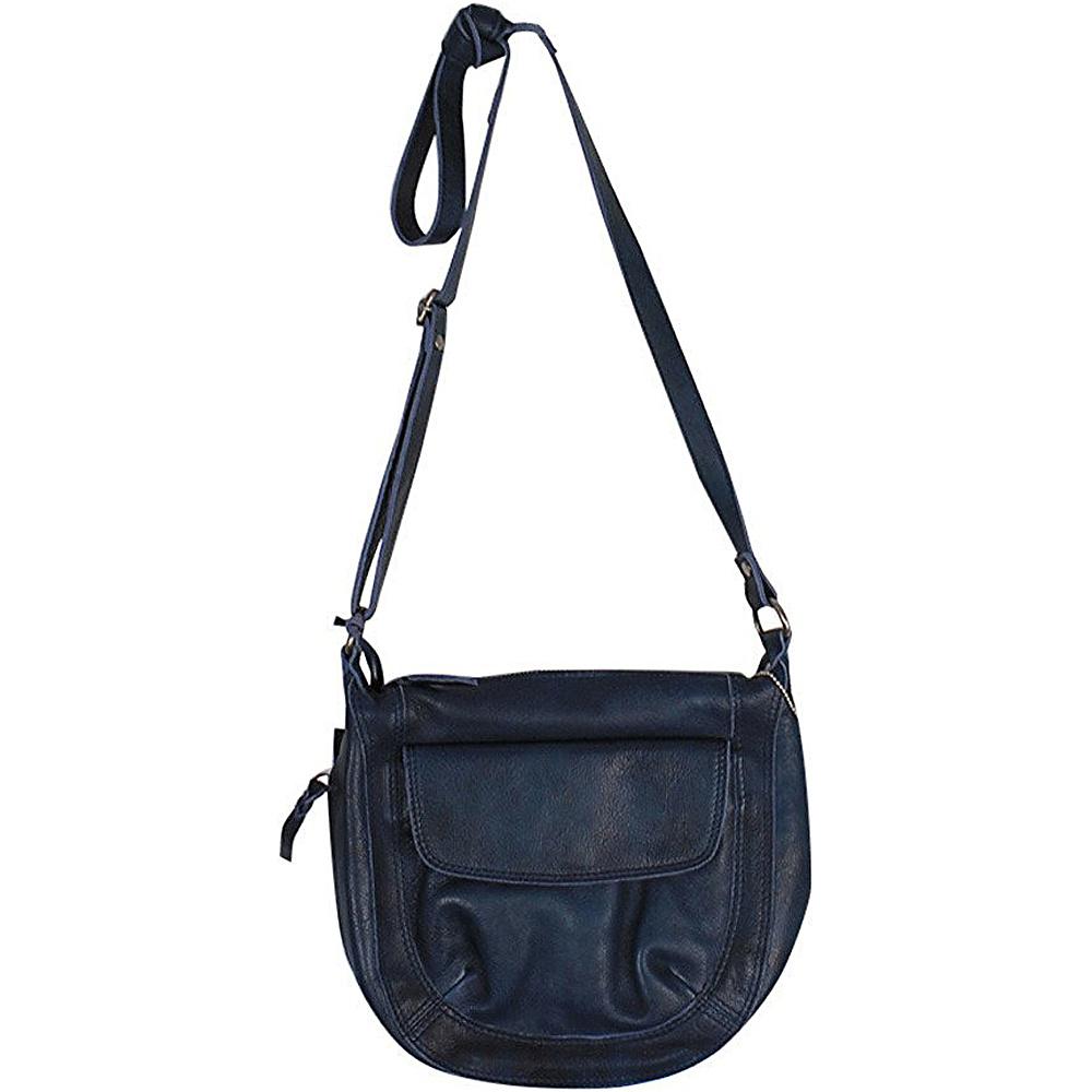 Latico Leathers Jay Crossbody Navy - Latico Leathers Leather Handbags - Handbags, Leather Handbags