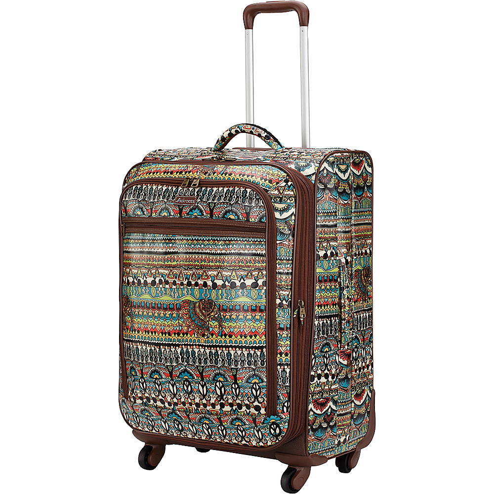 Sakroots Artist Circle 26 Spinner Natural One World - Sakroots Softside Checked - Luggage, Softside Checked