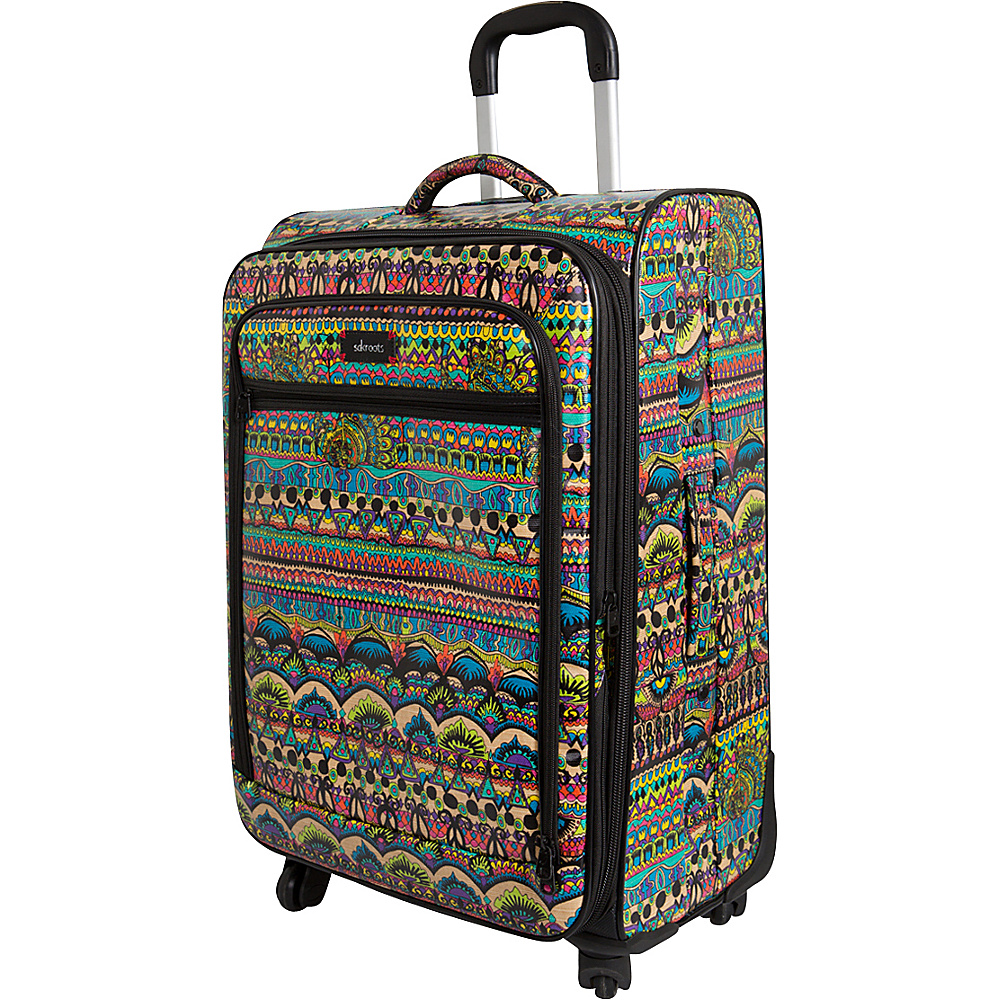 Sakroots Artist Circle 26 Spinner Radiant One World - Sakroots Softside Checked - Luggage, Softside Checked