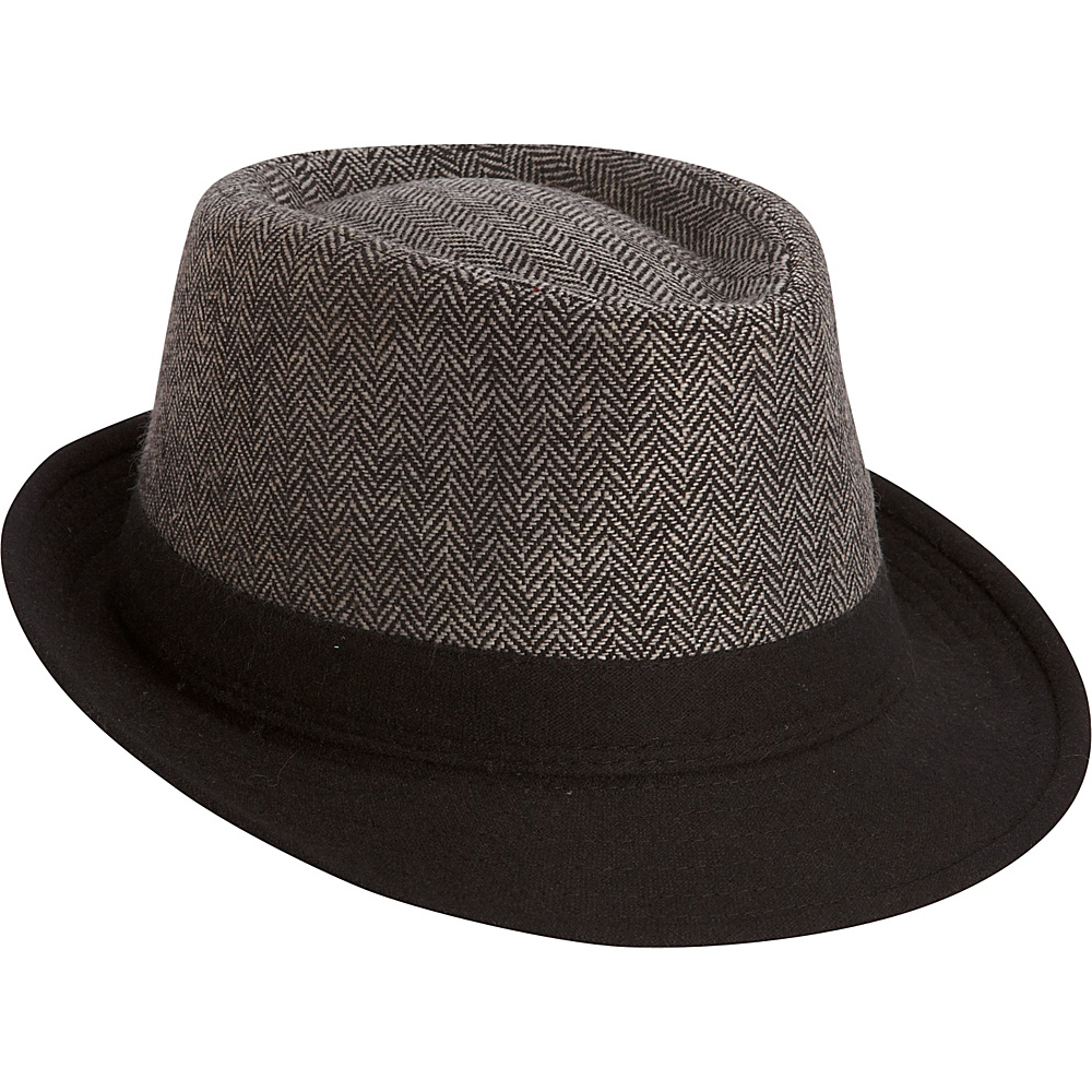Adora Hats Polyester Fedora Black Adora Hats Hats Gloves Scarves
