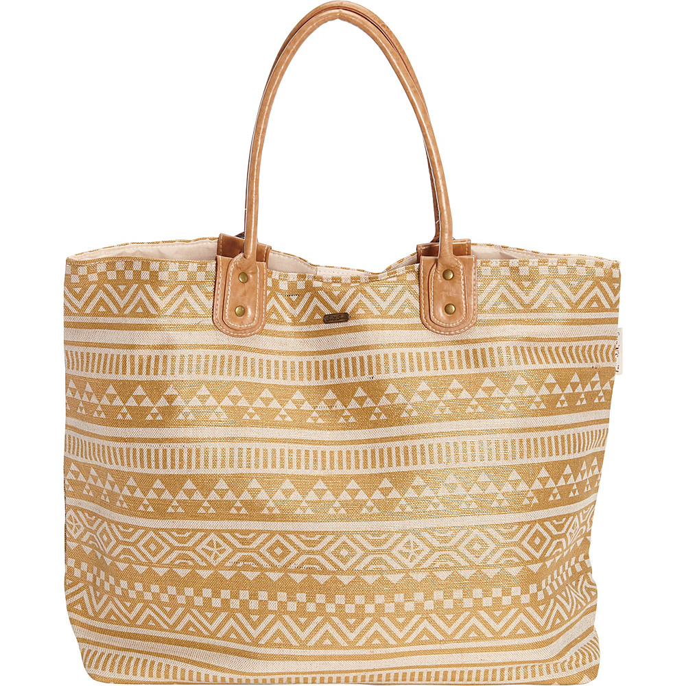 Sun N Sand Cable Bay Shoulder Tote Natural - Sun N Sand Fabric Handbags - Handbags, Fabric Handbags