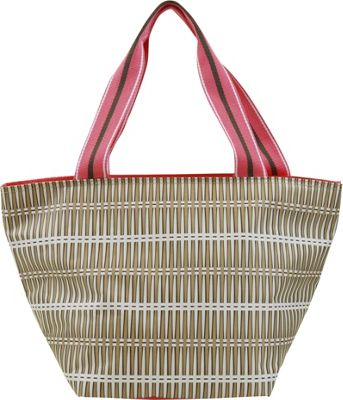All For Color Lunch Bag Khaki Rattan - All For Color Travel Coolers
