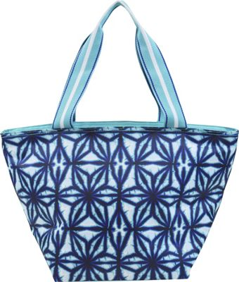 All For Color Lunch Bag Indigo Batik - All For Color Travel Coolers