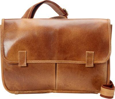 Le Donne Leather Koa Distressed Messenger Tan - Le Donne Leather Messenger Bags