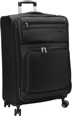 Skyway Sigma 5.0 25 inch 4 Wheel Expandable Upright Black - Skyway Softside Checked