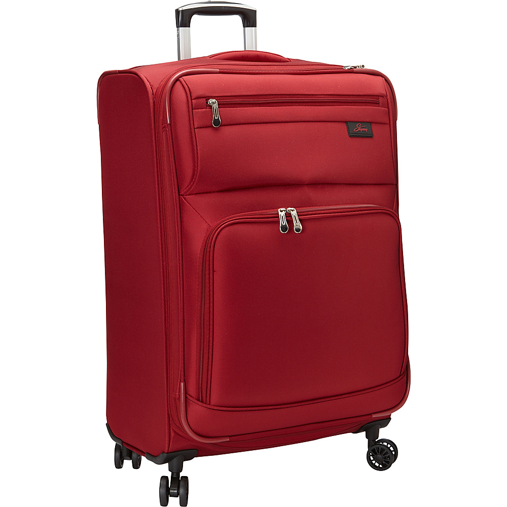 Skyway Sigma 5.0 25 4 Wheel Expandable Upright Merlot Red Skyway Softside Checked