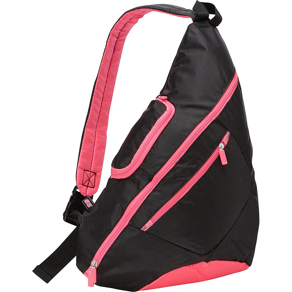Eastsport Cross Shoulder Sling Bag Hot Pink - Eastsport Slings