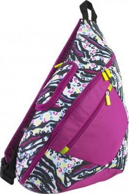 Eastsport Cross Shoulder Sling Bag Zebra - Eastsport Slings