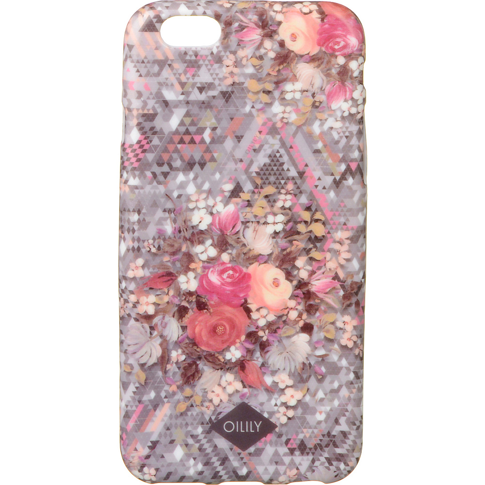 Oilily iPhone 6 Case Silver Oilily Electronic Cases