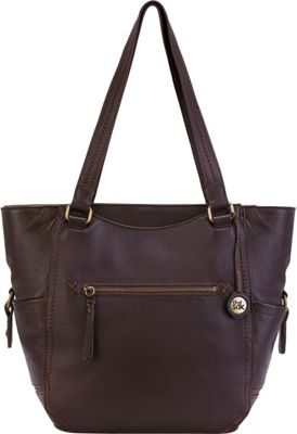 The Sak Kendra Work Tote Cocoa - The Sak Leather Handbags