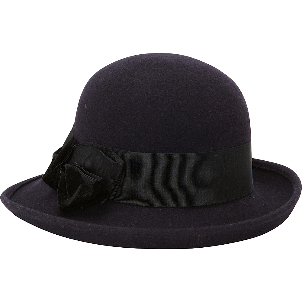 Betmar New York Rory Upturn Wide Brim One Size - Midnight Blue - Betmar New York Hats/Gloves/Scarves