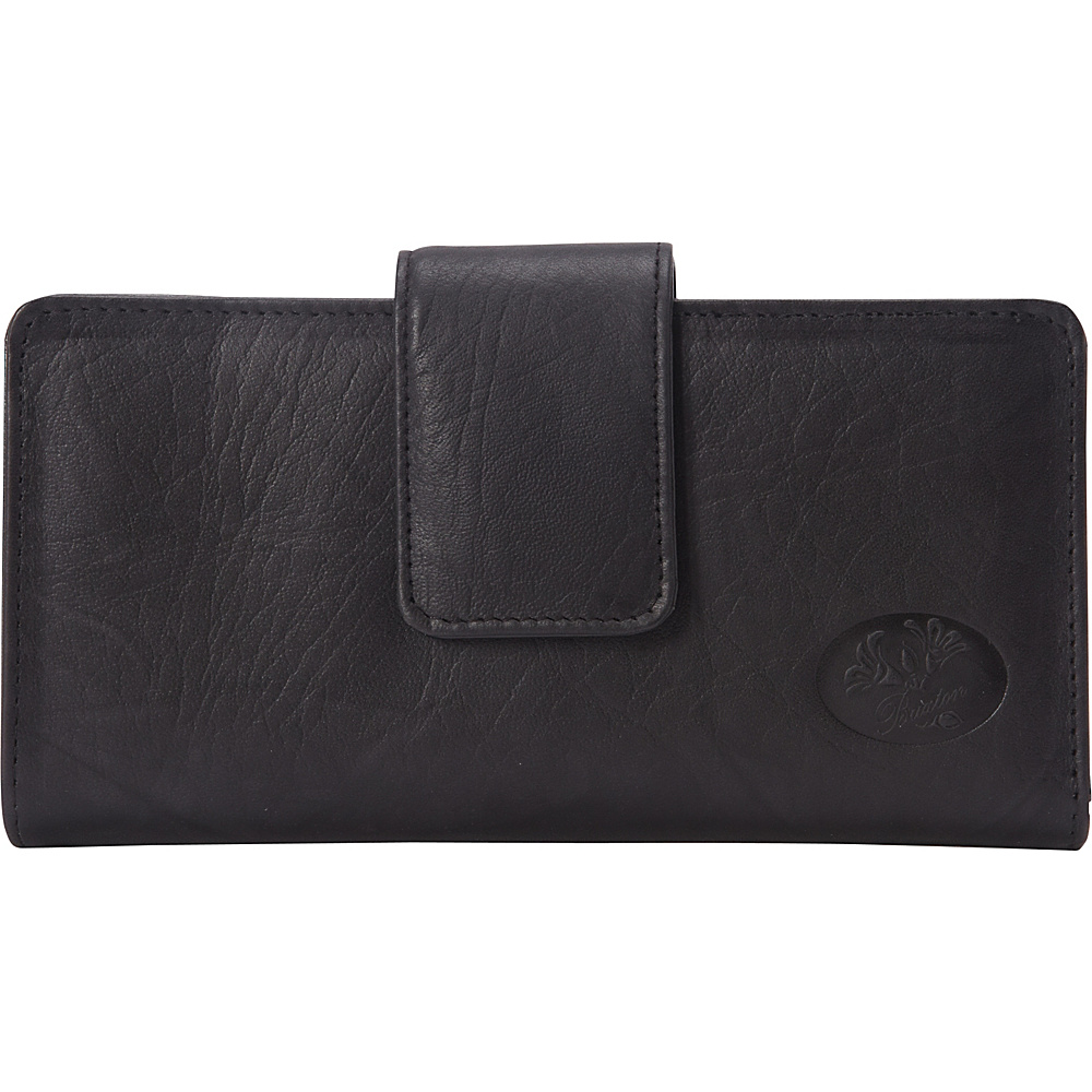 Buxton Heiress Metropolitan Wallet Black - Buxton Womens Wallets - Women's SLG, Women's Wallets