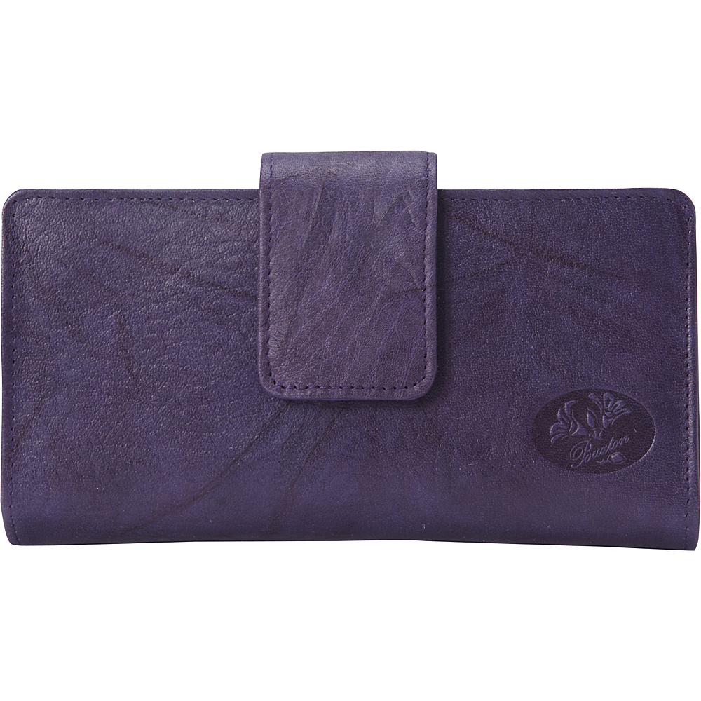 Buxton Heiress Metropolitan Wallet Mulberry - Buxton Womens Wallets - Women's SLG, Women's Wallets