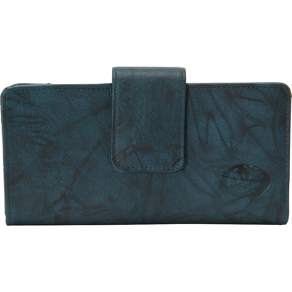 Buxton Heiress Metropolitan Wallet Deep Teal - Buxton Womens Wallets - Women's SLG, Women's Wallets
