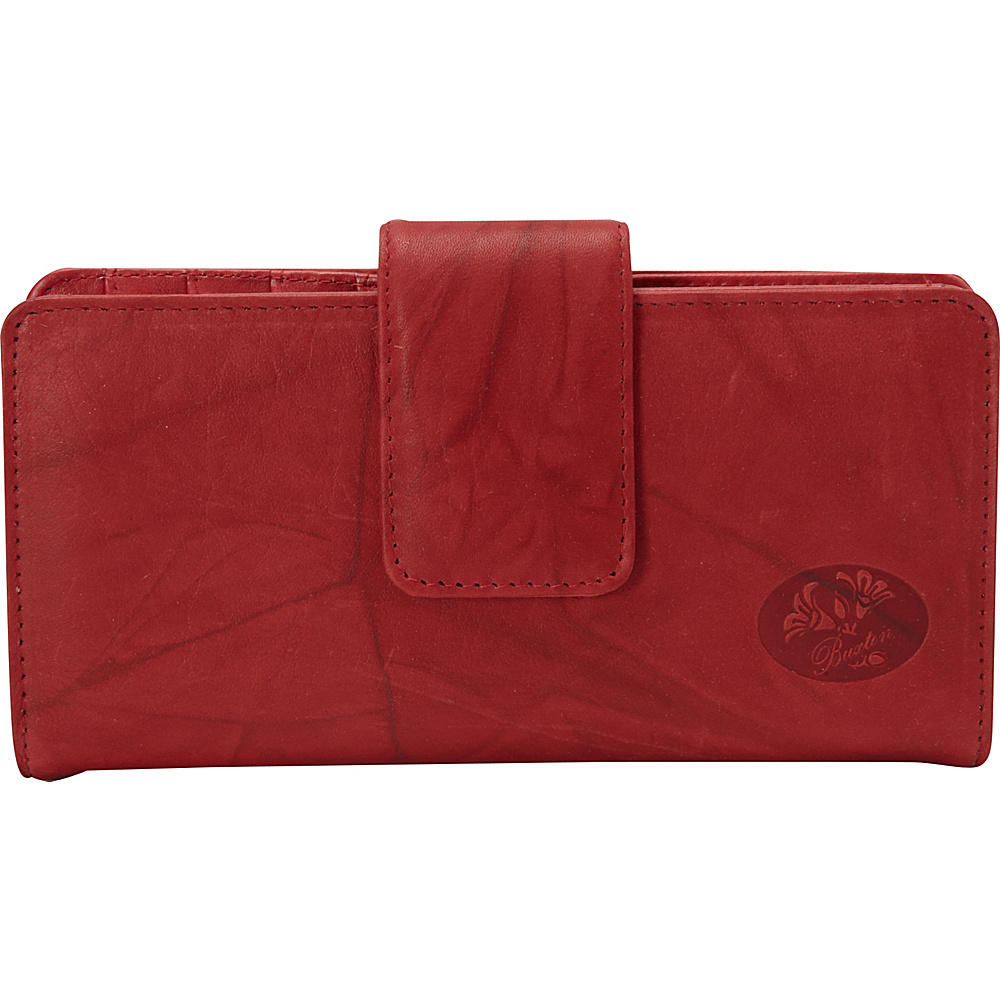 Buxton Heiress Metropolitan Wallet Red - Buxton Womens Wallets - Women's SLG, Women's Wallets