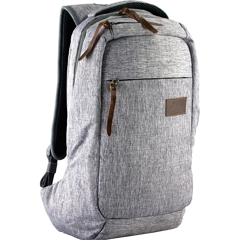 Red Rock Outdoor Gear Camino Commuter Laptop Backpack Gray Linen Red Rock Outdoor Gear Business Laptop Backpacks