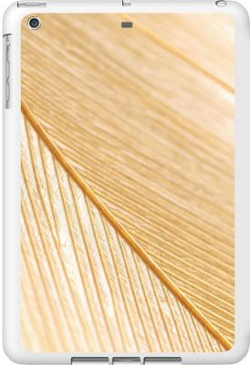 Centon Electronics OTM Glossy White iPad Air Case Feather Collection - Gold - Centon Electronics Electronic Cases