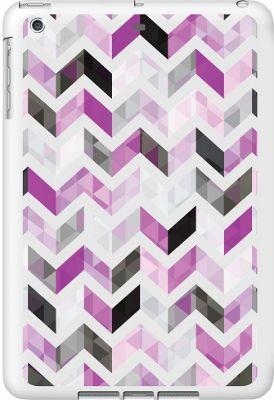Centon Electronics OTM Glossy White iPad Air Case Ziggy Collection - Purple - Centon Electronics Electronic Cases