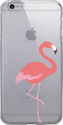 Centon Electronics OTM Clear iPhone 6 Plus Case Critter Prints - Flamingo - Centon Electronics Electronic Cases