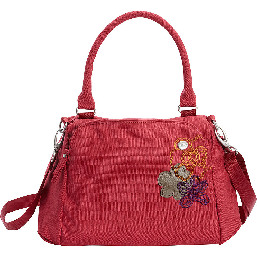 Haiku Teardrop Shoulder Bag Desert Bloom Haiku Fabric Handbags
