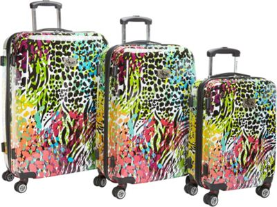 Chariot Color Fusion 3Pc Luggage Set Color - Chariot Luggage Sets