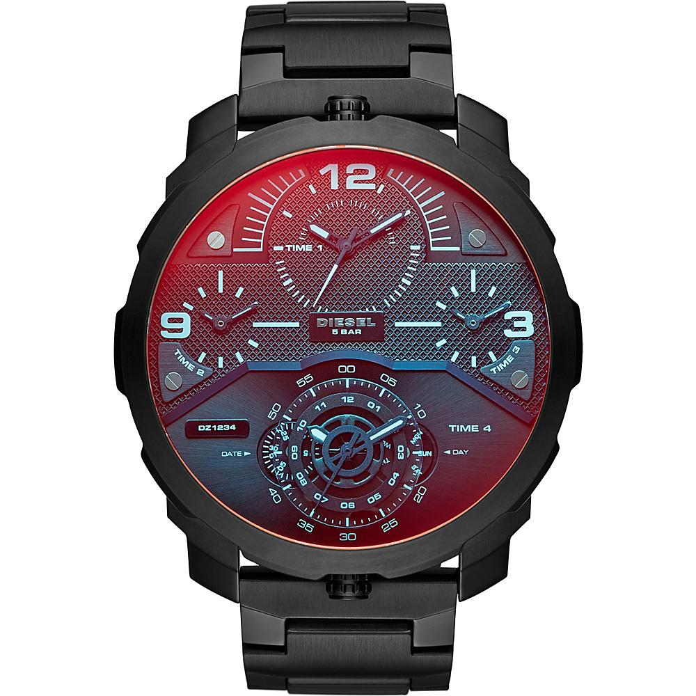Diesel Watches Machinus Watch Black - Diesel Watches Watches