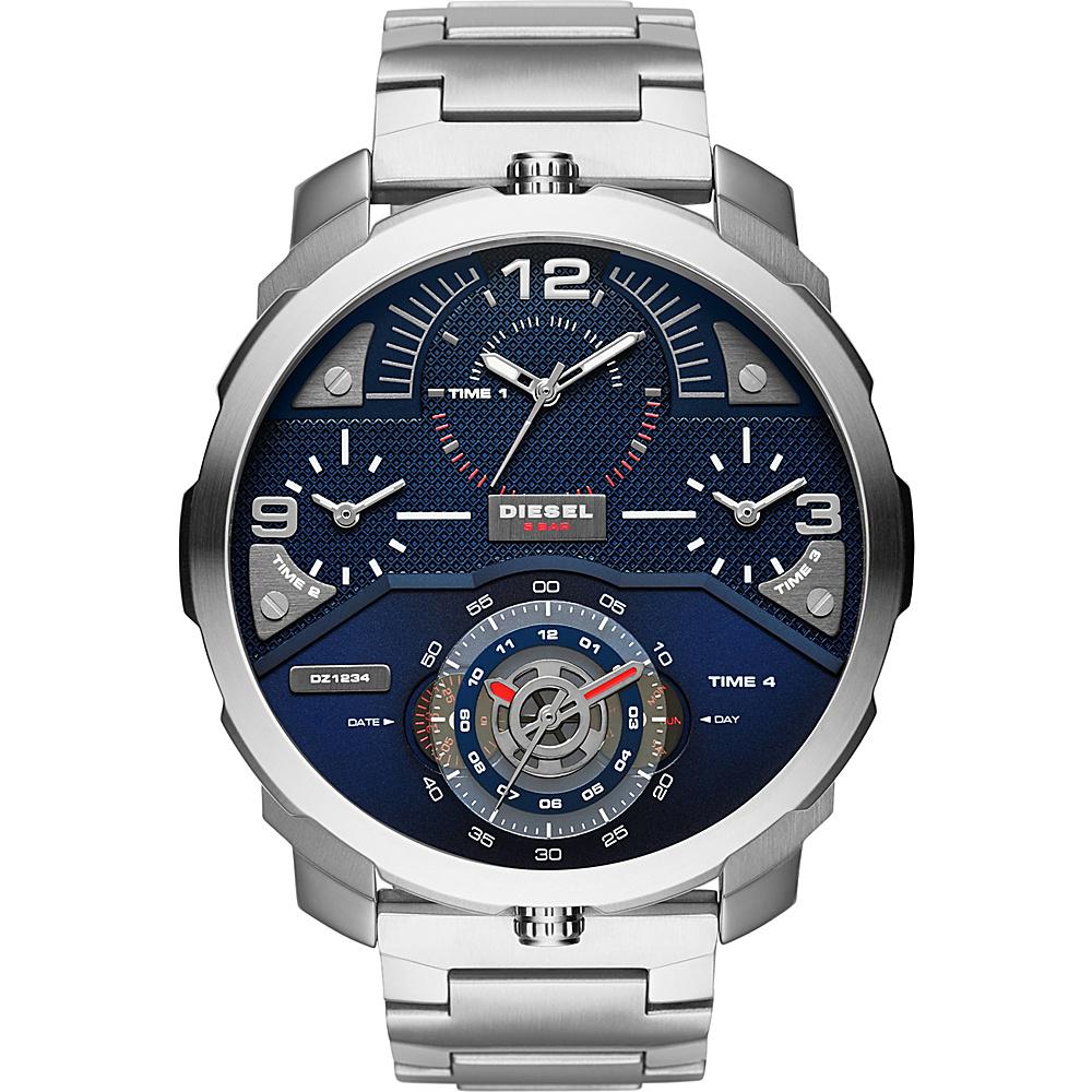 Diesel Watches Machinus Watch Silver - Diesel Watches Watches