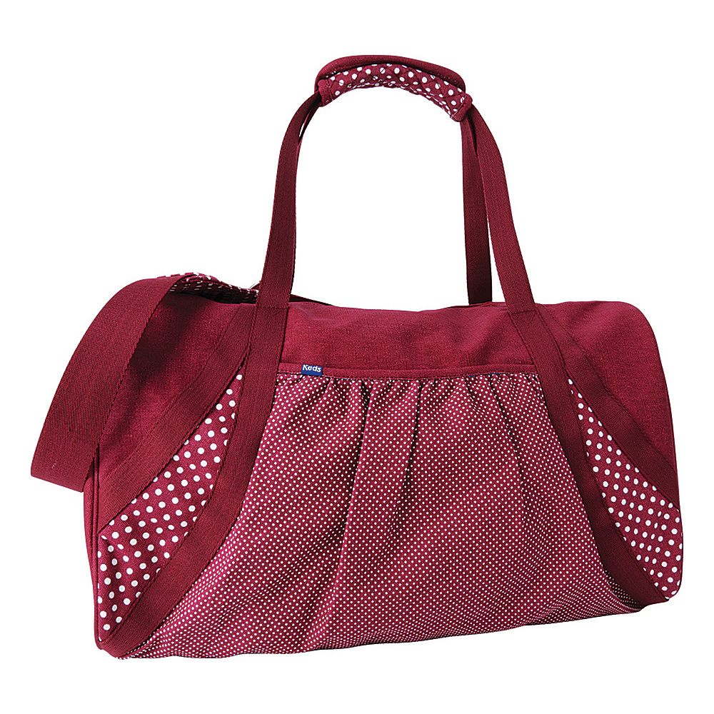 Keds Medium Weekender Beet Red Keds Travel Duffels