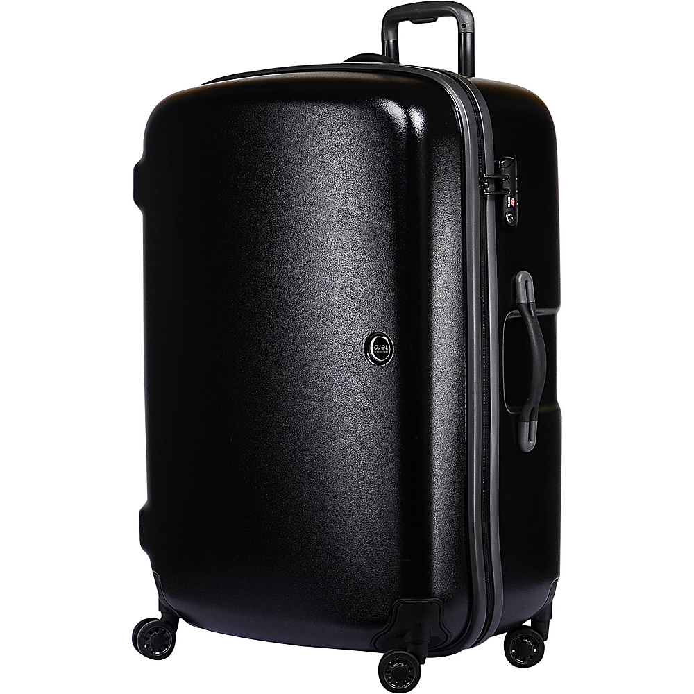 Lojel Nimbus IPX 3 Waterproof Luggage Large Black gray Lojel Hardside Checked