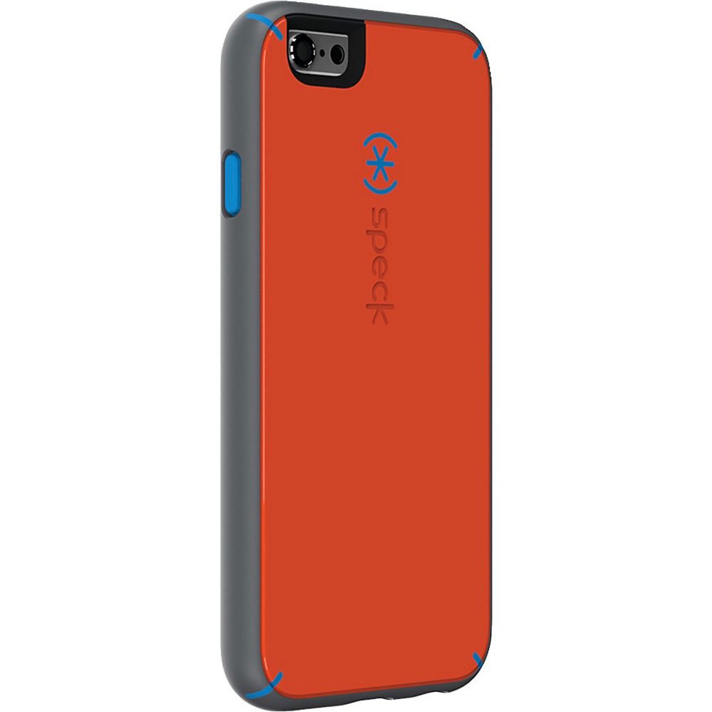 Speck iPhone 6 6s Mightyshell Faceplate Carrot Orange Speck Blue Slate Gray Speck Electronic Cases