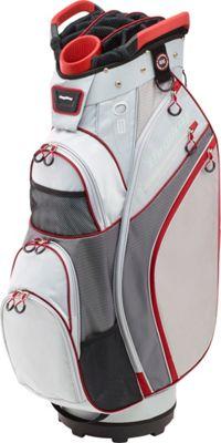 Image of Bag Boy Chiller Cart Bag Silver/Charcoal/Red - Bag Boy Golf Bags