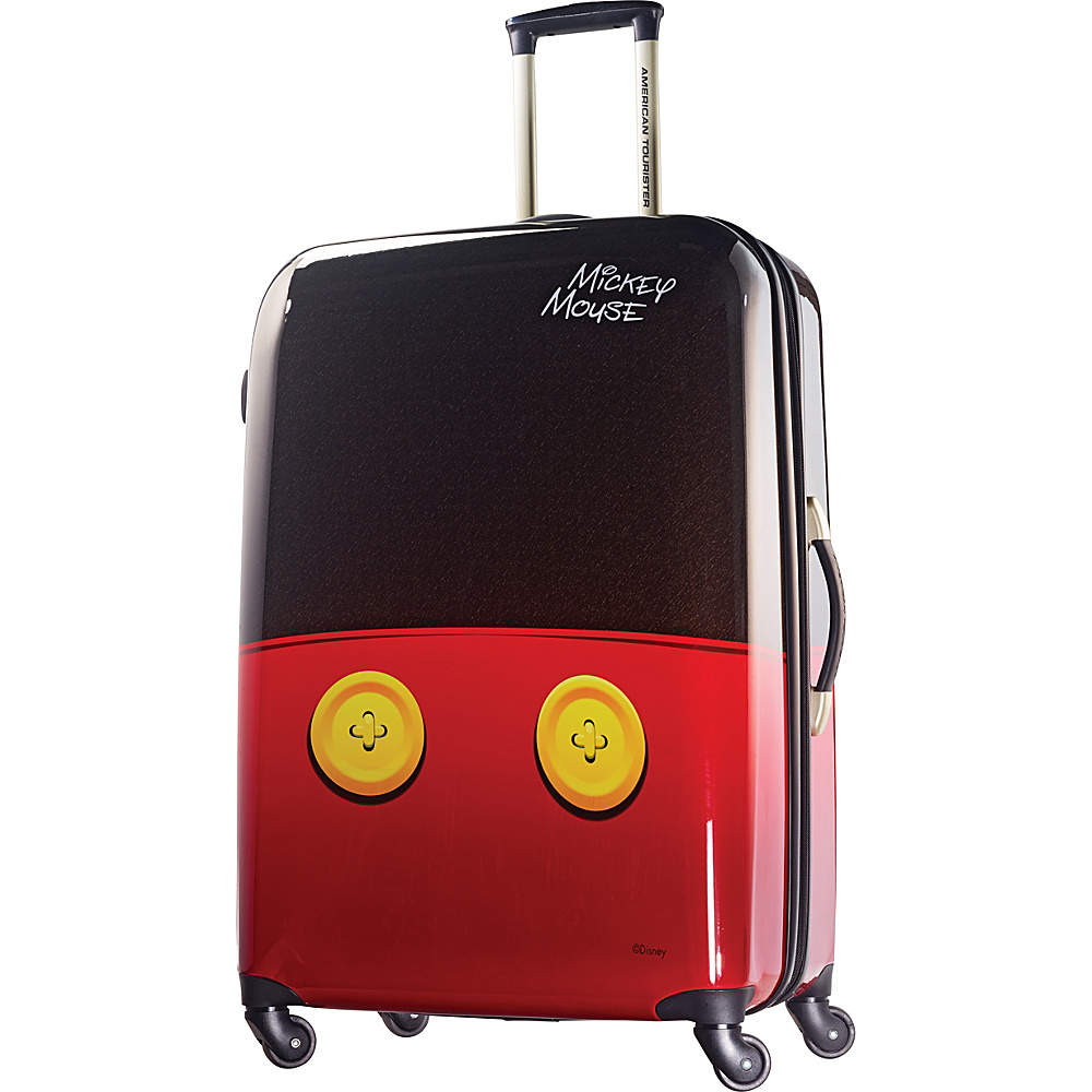 """American Tourister Disney Mickey Mouse Hardside Spinner 28"""" Mickey Mouse Pants - American Tourister Hardside Checked"""