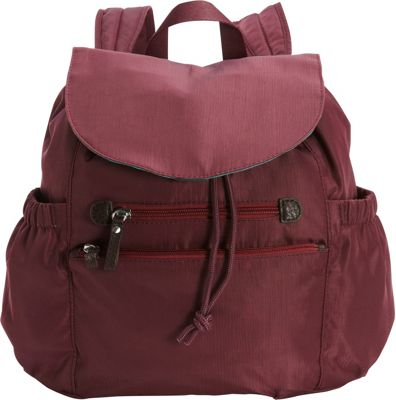 Osgoode Marley Osgoode Marley Everyday Backpack Cranberry - Osgoode Marley Fabric Handbags