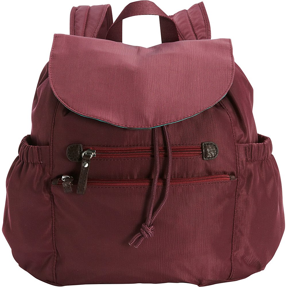 Osgoode Marley Everyday Backpack Cranberry Osgoode Marley Fabric Handbags