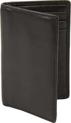 Tanners Avenue Slim Leather Card Case Black - Tanners Avenue Men's Wallets