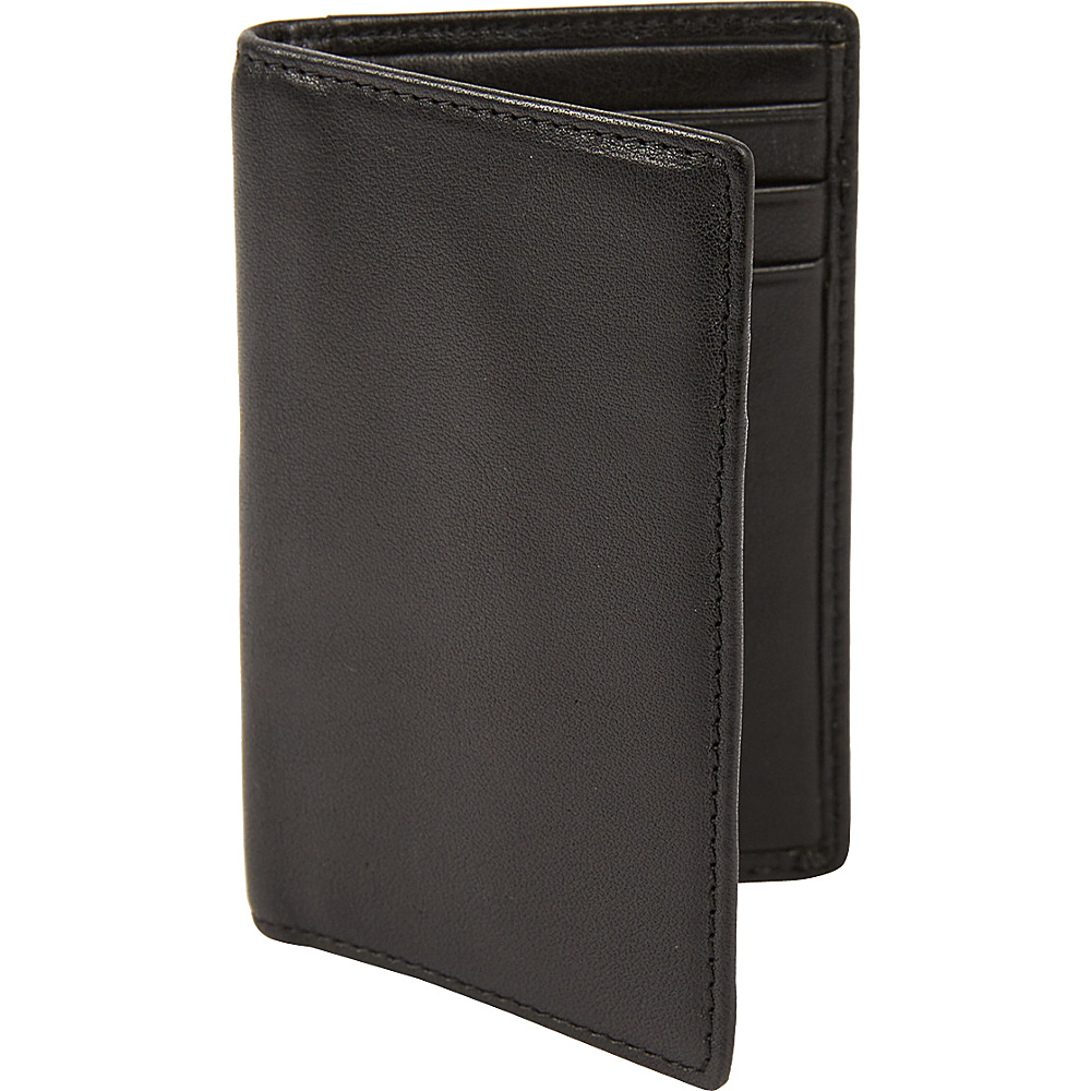 Tanners Avenue Slim Leather Card Case Black Tanners Avenue Men s Wallets