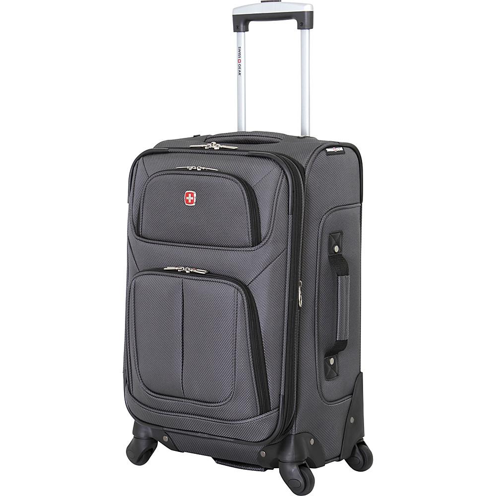 SwissGear Travel Gear 21 Spinner Dark Grey SwissGear Travel Gear Softside Carry On