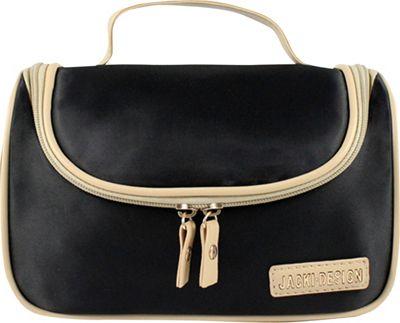 Jacki Design Essential Travel Cosmetic Bag with Hanger Black - Jacki Design Toiletry Kits