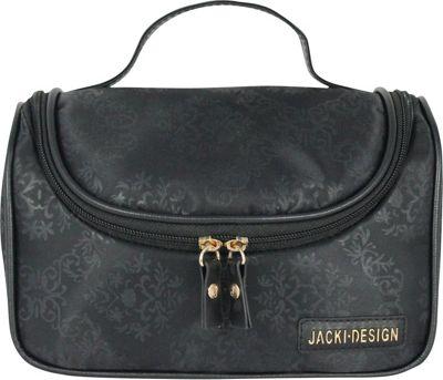 Jacki Design New Essential Travel Bag with Hanger Black - Jacki Design Toiletry Kits