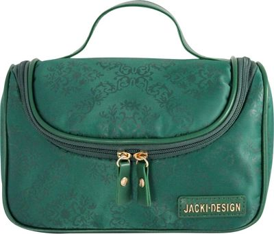 Jacki Design New Essential Travel Bag with Hanger Emerald - Jacki Design Toiletry Kits