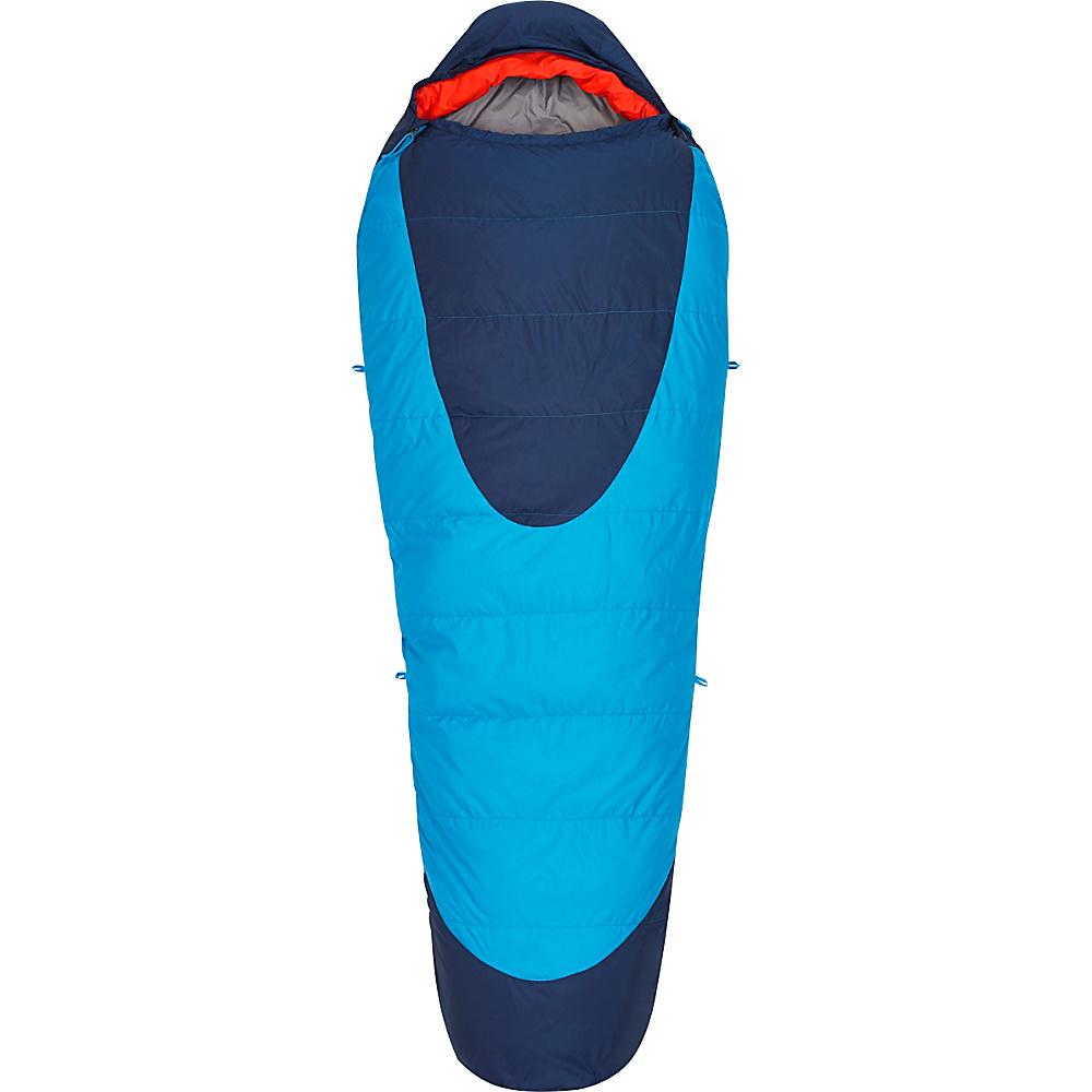 Kelty Cosmic 20 Degree 600 DriDown Sleeping Bag Paradise Blue Long Kelty Outdoor Accessories