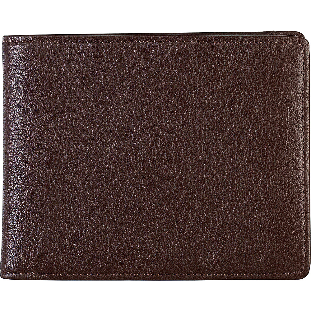 Johnston Murphy Flip Bifold RFID Wallet Dark Brown Johnston Murphy Men s Wallets