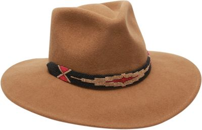 Ale by Alessandra Taos Hat One Size - Tobacco - Ale by Alessandra Hats/Gloves/Scarves