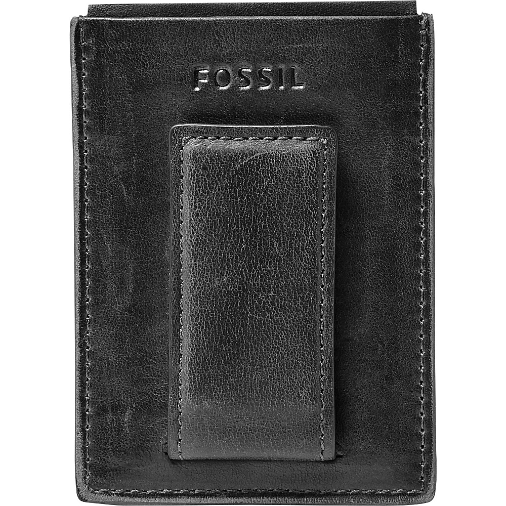 Fossil Anderson Magnetic Card Case Black - Fossil Mens Wallets - Work Bags & Briefcases, Men's Wallets