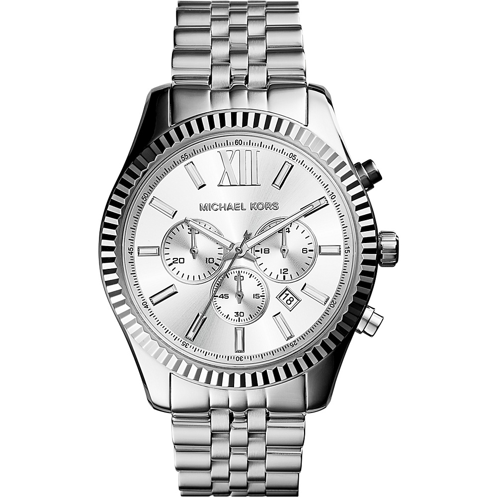 Michael Kors Watches Lexington Watch Silver Michael Kors Watches Watches