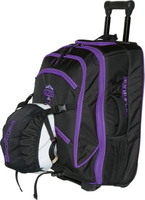 Sportube Cabin Cruiser Boot and Gear Bag Purple/Black - Sportube Ski and Snowboard Bags
