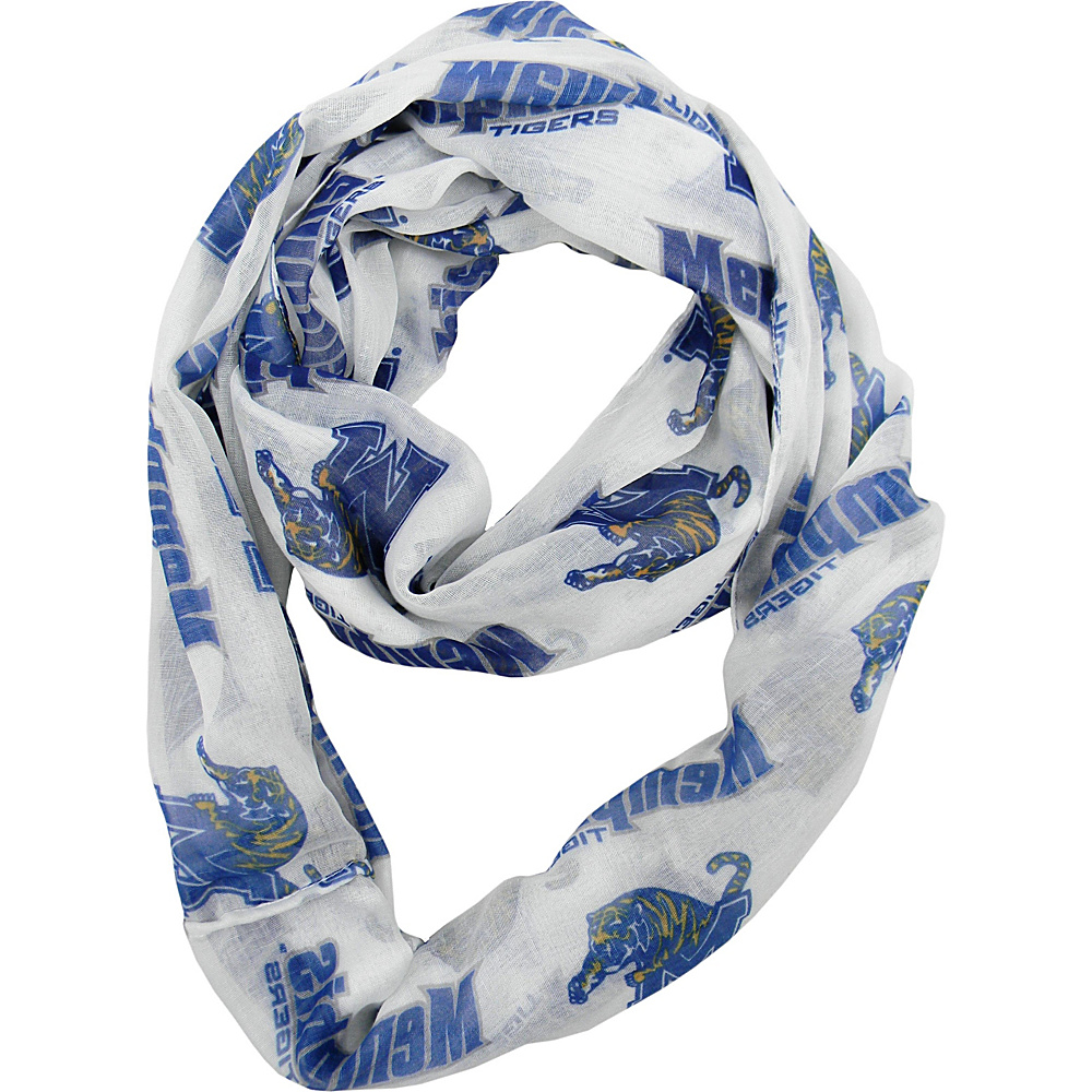Littlearth Sheer Infinity Scarf - AAC Teams Memphis, U of - Littlearth Hats/Gloves/Scarves - Fashion Accessories, Hats/Gloves/Scarves