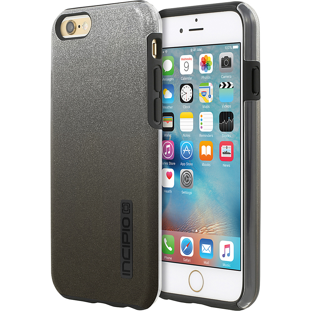 Incipio DualPro Glitter for iPhone 6 6s Black - Incipio Electronic Cases - Technology, Electronic Cases