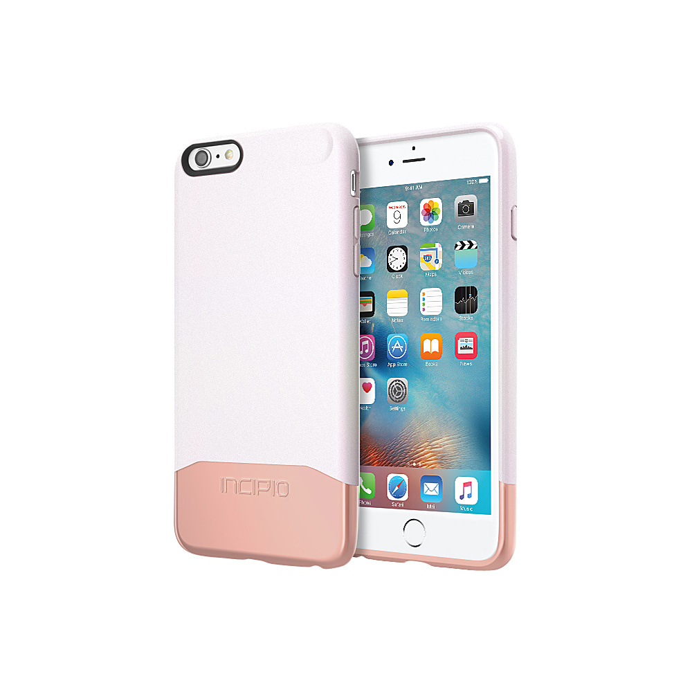 Incipio Edge Chrome for iPhone 6/6s Plus Iridescent White/Rose Gold - Incipio Electronic Cases - Technology, Electronic Cases